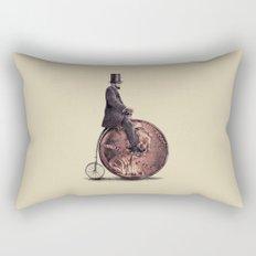 Penny Farthing  Rectangular Pillow