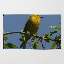 Yellow Warbler Rug