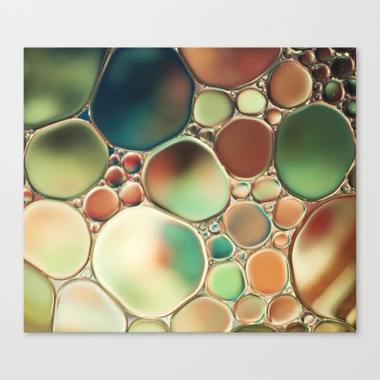 Pastel Abstraction Canvas Print