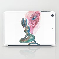 lannister iPad Cases featuring Sea Taniwha by Ariel Ni-Wei Huang