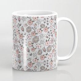 Hand Drawn Florals Coffee Mug