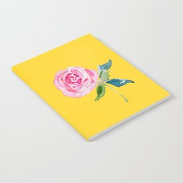 Watercolor Rose Notebook