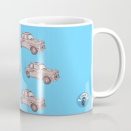 2 caballos viejo carro / old car custom spain ols model Coffee Mug