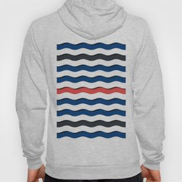 wave life pattern Hoody