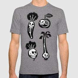 X-rays vegetables (black background) T-shirt