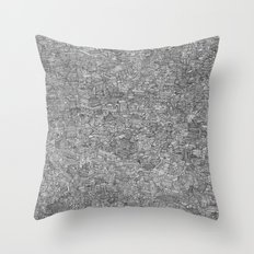 The Great City Throw Pillow