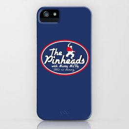 The Pinheads with Marty McFly iPhone Case