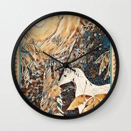 """Unicorn Love"" Wall Clock"