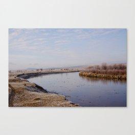 Glass River Canvas Print
