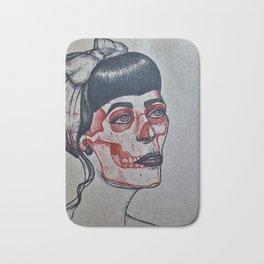 Rockabilly x-ray Bath Mat