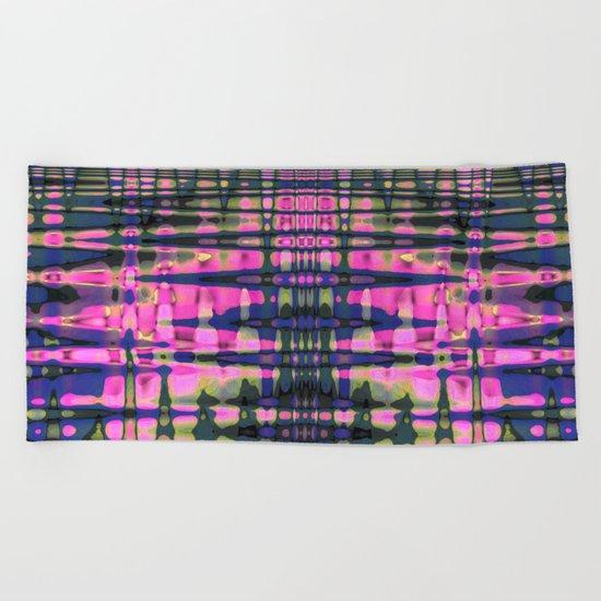 Color streams Beach Towel