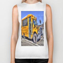 American School Bus Biker Tank