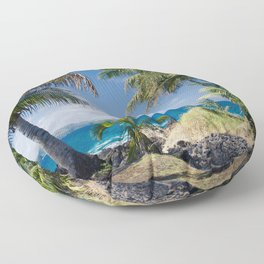 Welcome to Paradise Floor Pillow