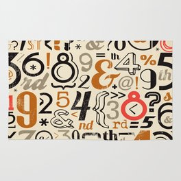 All Numbers - 2018 - Notebooks & more Rug