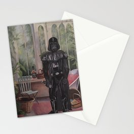 Darth Vader at home  Stationery Cards