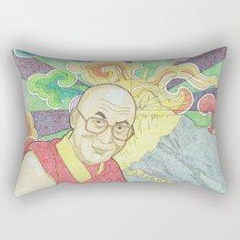 Dalai Lama Rectangular Pillow