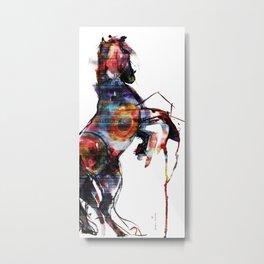 Horse (Bohemian) Metal Print