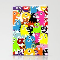 aliens Stationery Cards featuring ALIENS  by d.ts