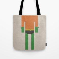 Retro Aquaman Tote Bag