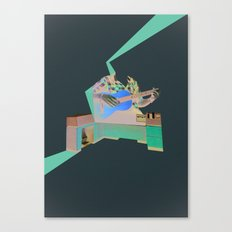 Folktronica Canvas Print