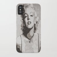 monroe iPhone & iPod Cases featuring Monroe by Jason Michael