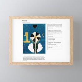 Bold Girl  / Art Stories Framed Mini Art Print