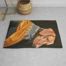 Ridgeback Dog pet classic royal oil painting Rug