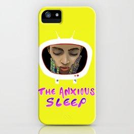 The Anxious Sleep iPhone Case