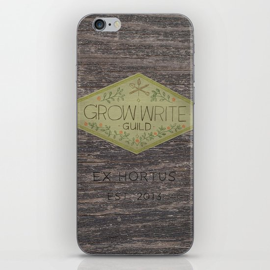 Grow Write Guild Seal iPhone & iPod Skin