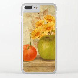 Fruit In The Sun Clear iPhone Case