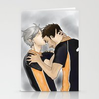 haikyuu Stationery Cards featuring Defeated Haikyuu!! by Pruoviare