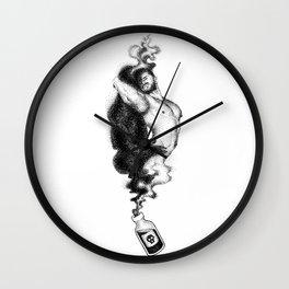 Matthew Spooky Booty Nood Dood Wall Clock