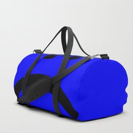 sad face anxiety awareness Duffle Bag