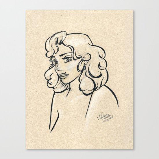 Beauty Mark Canvas Print