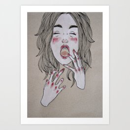 Addiction Art Print
