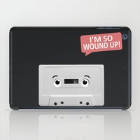 cassette iPad Cases featuring Cassette by Dylan Morang