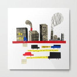 Small City Stories II Metal Print