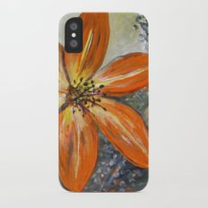 Daylily iPhone X Slim Case
