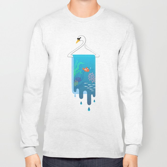 Swan Hanger Long Sleeve T-shirt