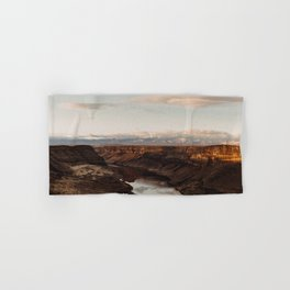 Snake River, Idaho - Scenic Desert Canyon Hand & Bath Towel