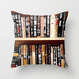 Books3 Throw Pillow