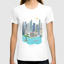 New York City Illustration T-shirt
