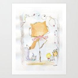 Foxerina Art Print