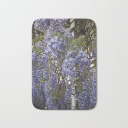 Wisteria Flowers Bath Mat