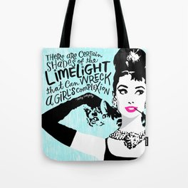 Certain Shades of the Limelight Tote Bag