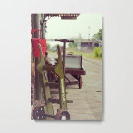 Railway Station Metal Print