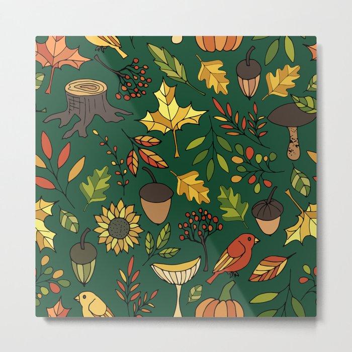 Bright autumn Metal Print