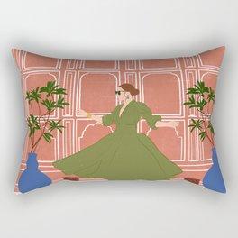 Pink City Rectangular Pillow