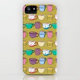 coffee or tea? iPhone Case