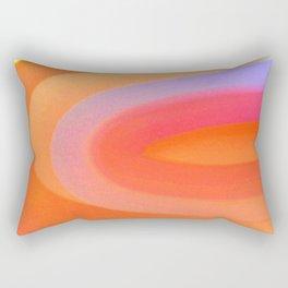 Sorbet Color Swirl Rectangular Pillow